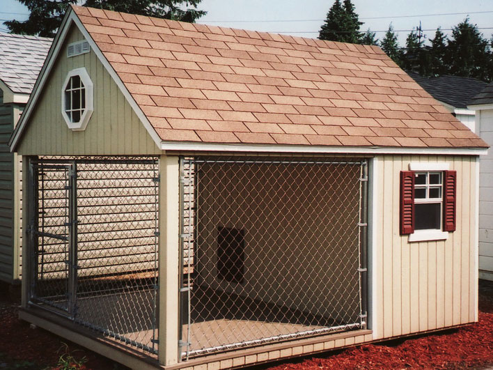 41 casinhas de cachorro incr veis blog do cachorro for Building a dog kennel business